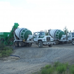 Koliganek- Used a Fastway batch plant and two trucks for concrete on the new school over 2 yrs.